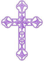 Cottage Cutz Filigree Cross 4x4 Die   Save 40  Cottagecutzeaster