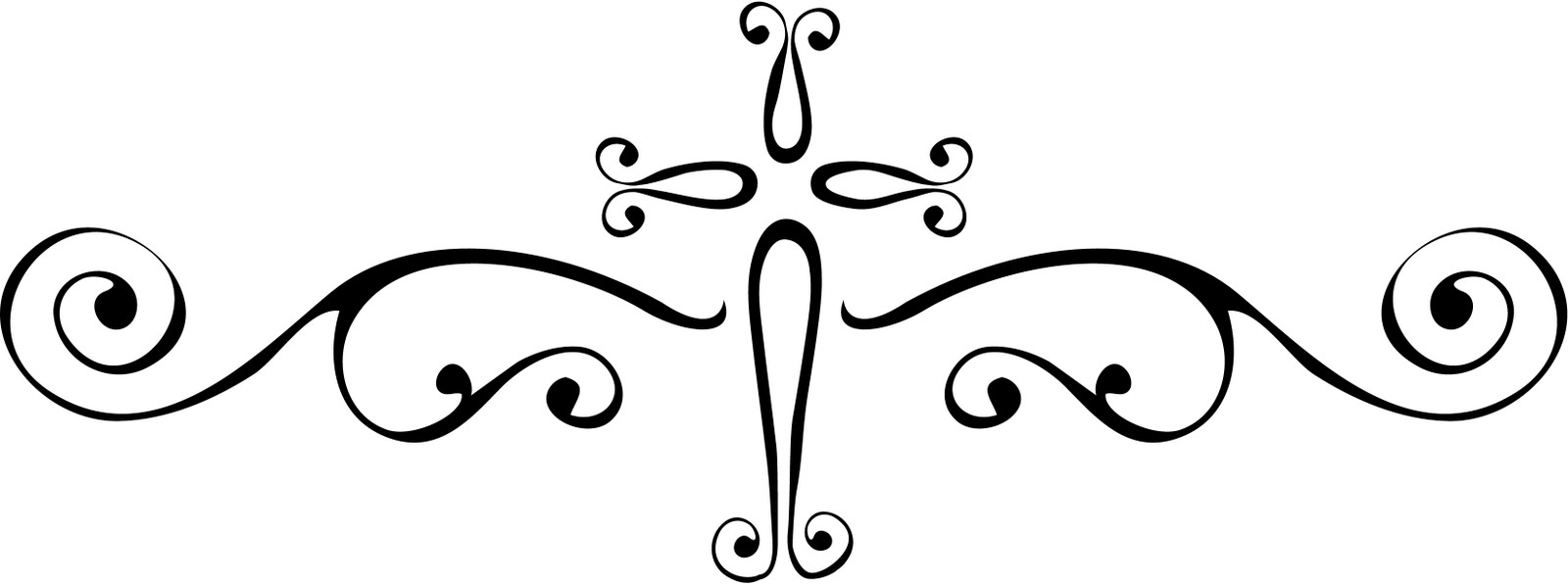 Filigree Cross Clip Art