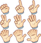 Fingers Counting Clipart Count Clipart