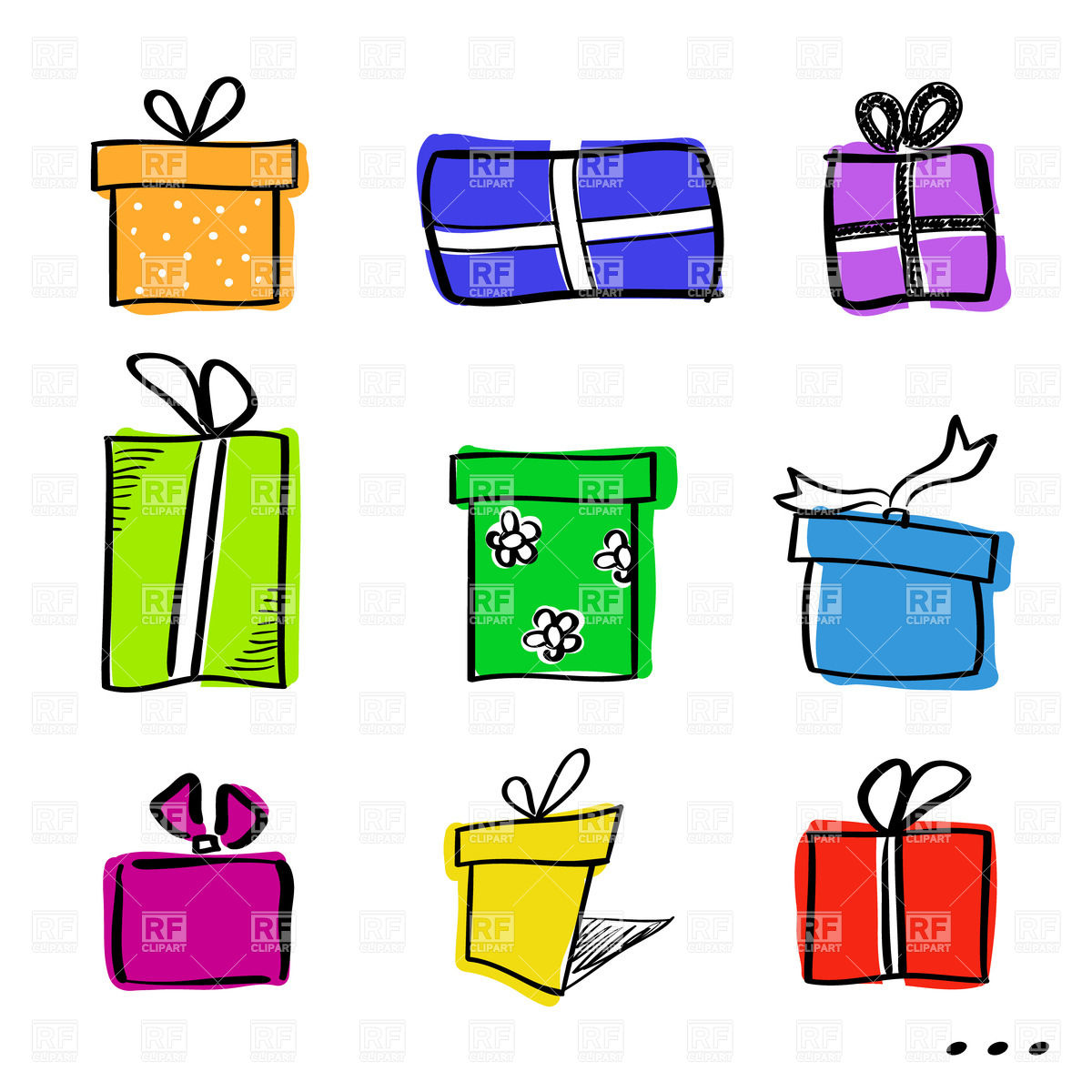 Gift Box In The Public Domain Clipart - Clipart Kid