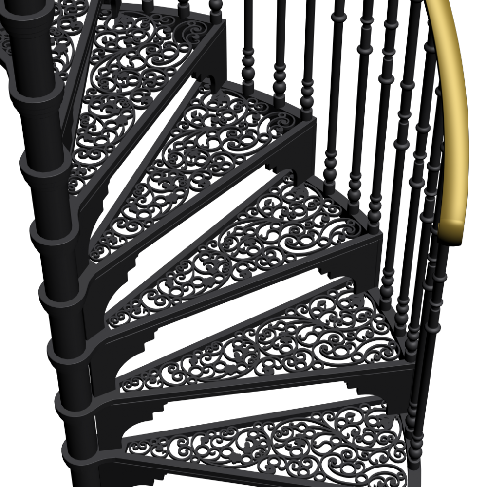 Related Pictures 3d Spiral Staircase Clipart Graphic