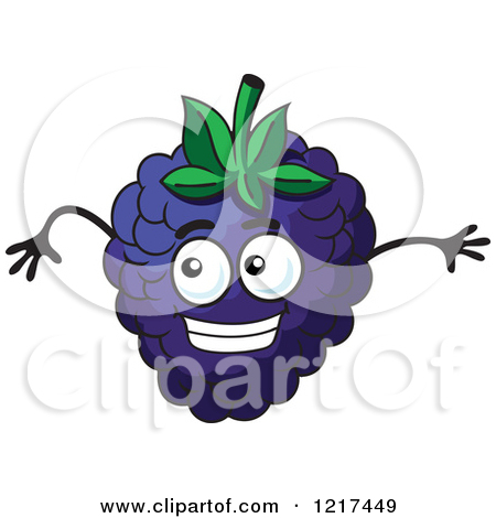 Royalty Free  Rf  Clipart Of Blackberries Illustrations Vector