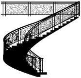 Spiral Staircase 01 Stock Vectors Illustrations   Clipart