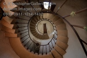 Spiral Staircase Clipart   Spiral Staircase Stock Photography