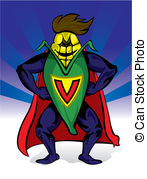 Super Power Vector Clipart And Illustrations