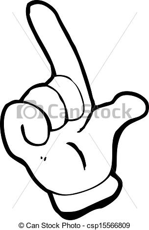 Vector   Cartoon Counting Fingers   Stock Illustration Royalty Free