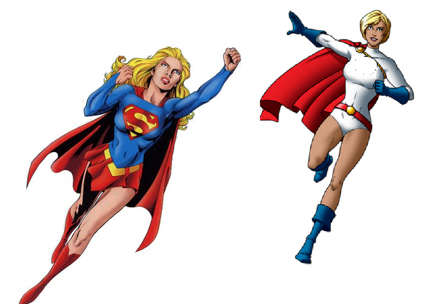 When Supergirl First Arrived   Clipart Panda   Free Clipart Images