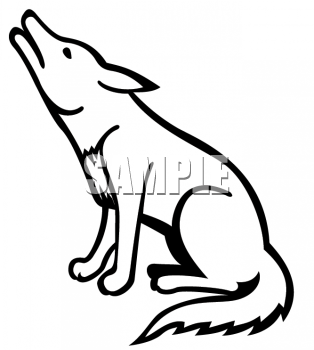 Coyote Clipart - Clipart Kid