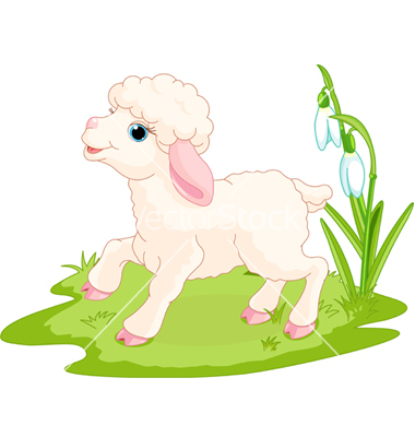 Easter Lamb Vector By Dazdraperma   Image  395622   Vectorstock