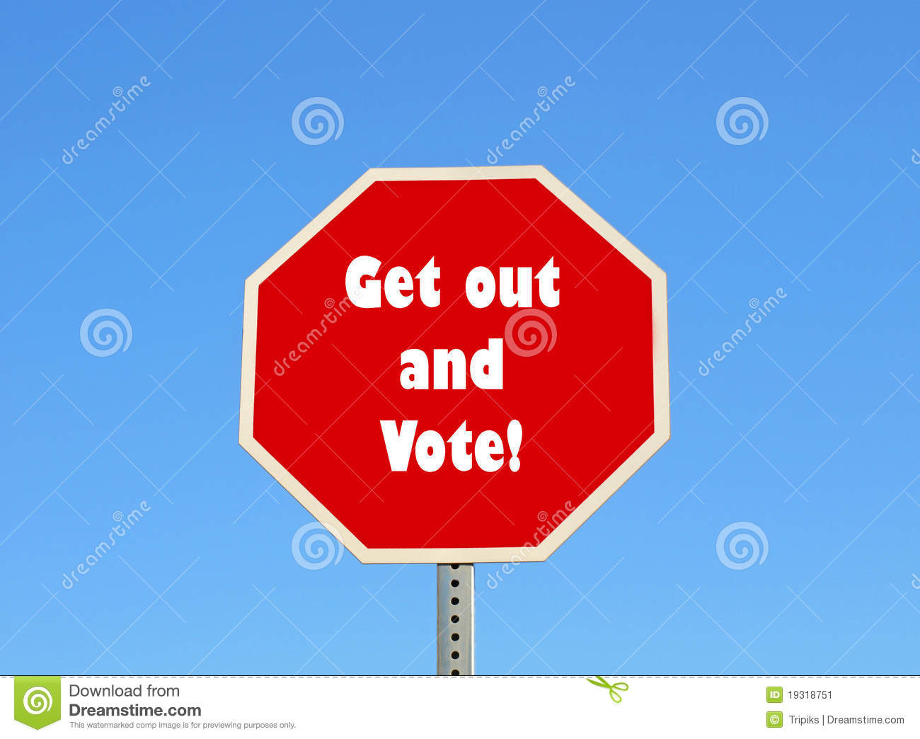More Similar Stock Images Of   Get Out And Vote