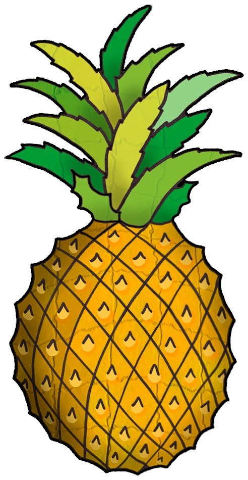 Pineapple Clip Art