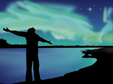Praises Under The Night Sky   Worship Backgrounds