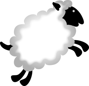 Sheep Clip Art Images Sheep Stock Photos   Clipart Sheep Pictures