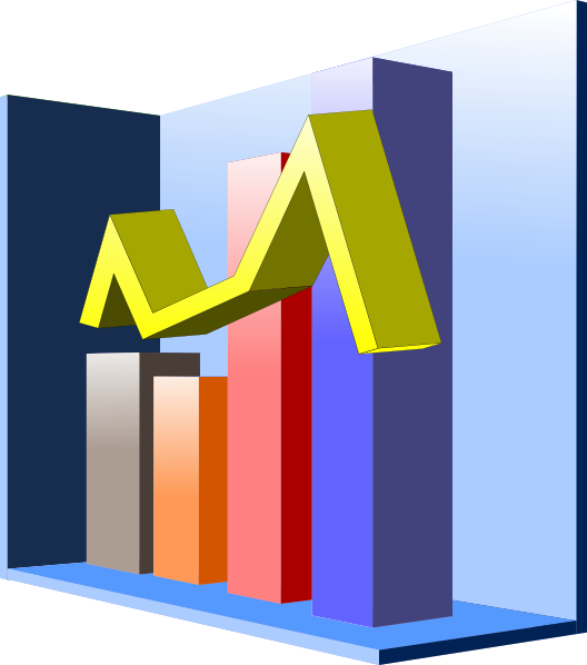 Clip Art Graph Clip Art charts and graphs clipart kid 3d graph clip art at clker com vector online royalty free