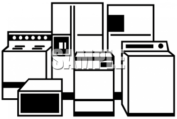 Appliances Clipart Image