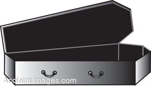 Cartoon Coffin Clip Art