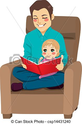 Dad And Daughter Reading     Clipart Panda   Free Clipart Images
