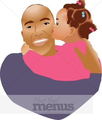 Dad Daughter Clipart