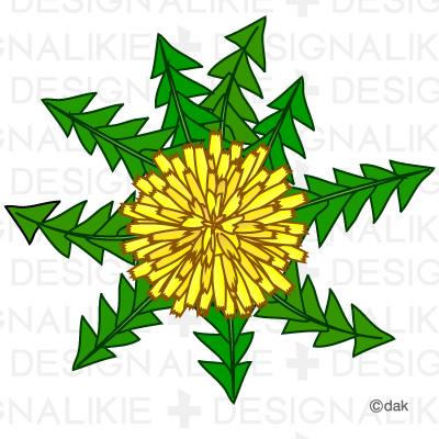 Free Dandelion Flower Clipart