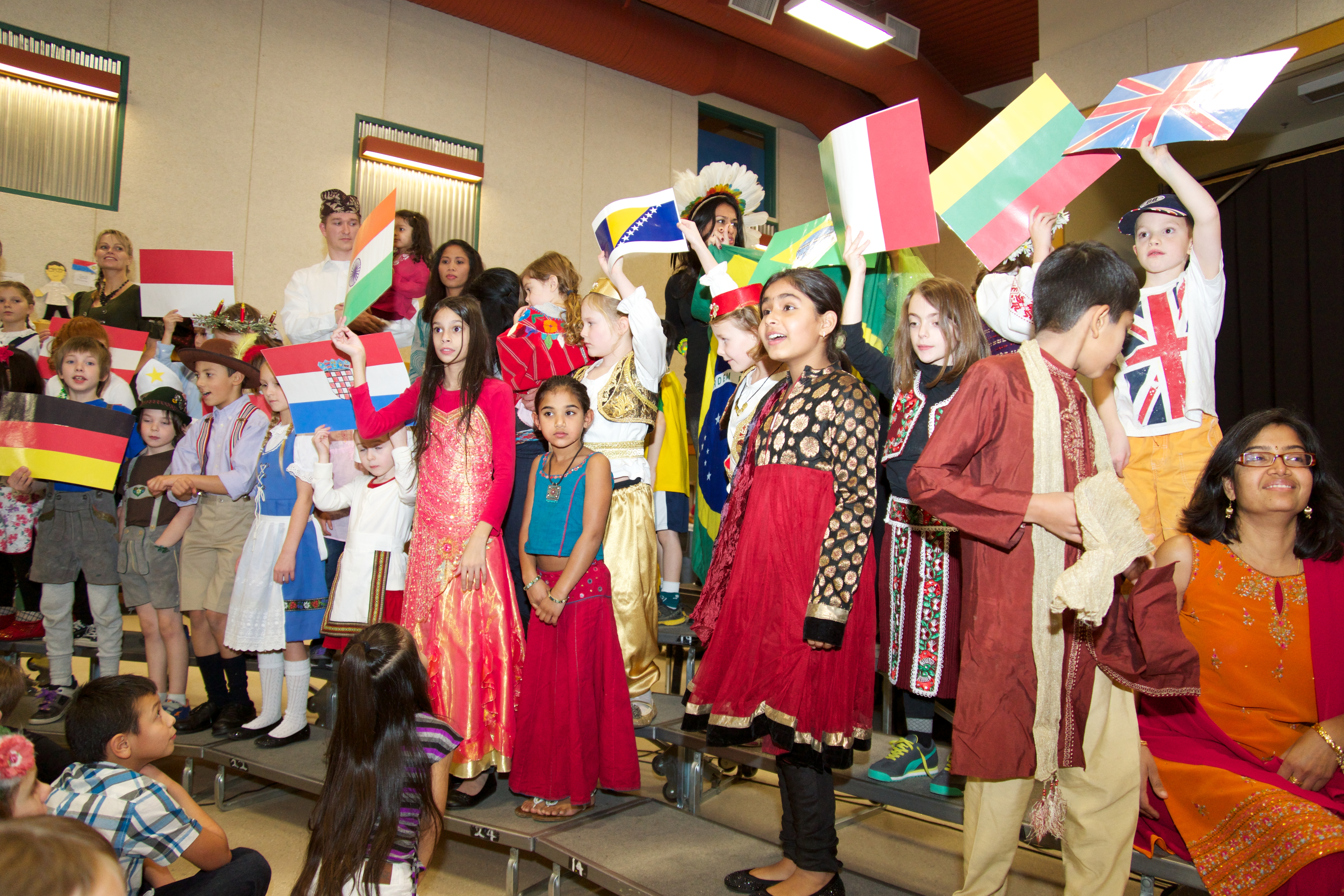 how to plan a multicultural night at school