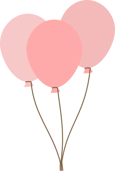 pink-balloons-clip-art-at-clker-com-vector-clip-art-online-royalty ...