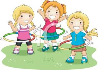 0511 1104 1000 1272 Girls Playing With Plastic Hoops Clipart Image Jpg