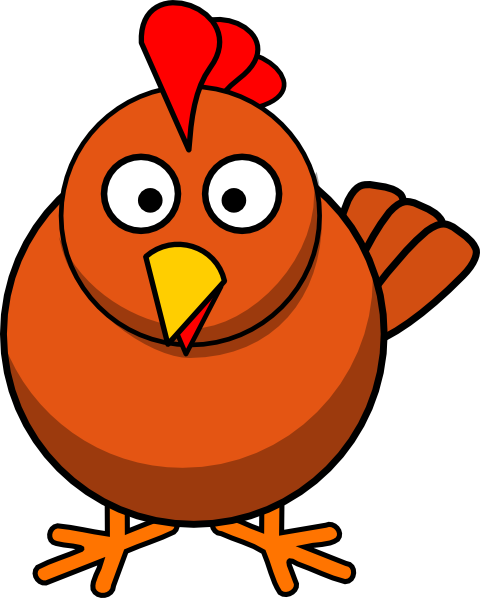 Chicken Cartoon Clip A...