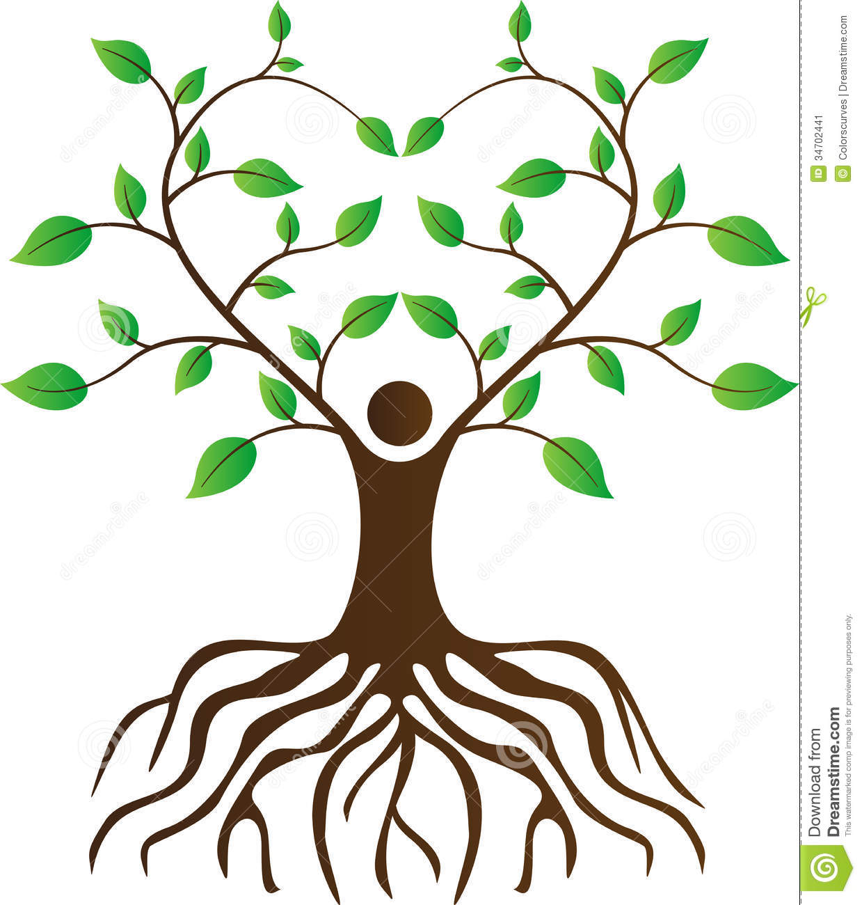 Clip Art Tree With Roots Clipart simple tree root clipart kid clip art with roots panda free images