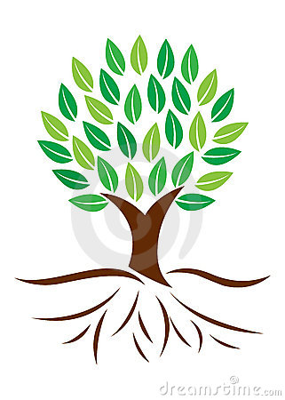 Clip Art Tree With Roots Tree Roots 22551544 Jpg
