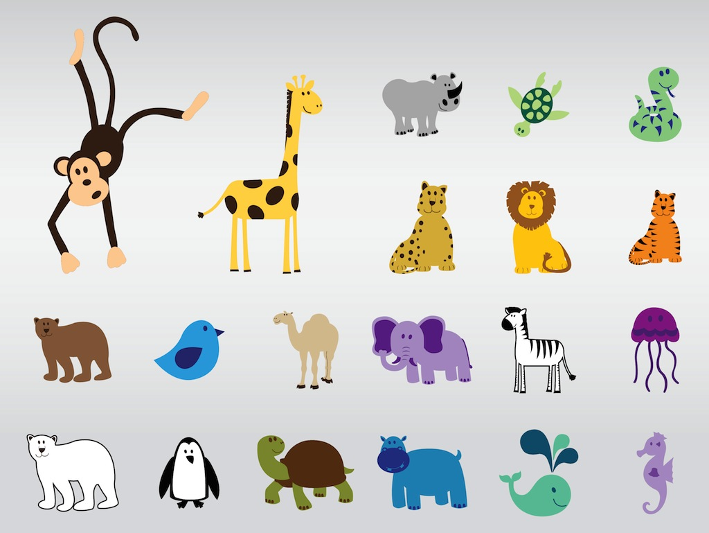 free clipart zoo animals - photo #41