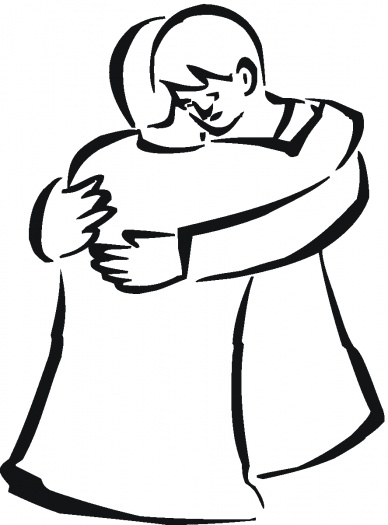 Friends Hugging Drawing   Clipart Panda   Free Clipart Images
