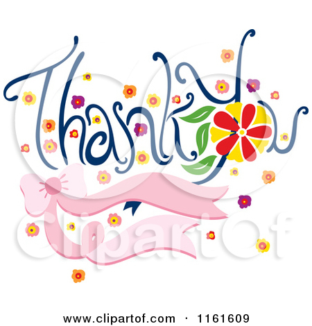 Funny Thank You Clipart Thank 20you 20flowers