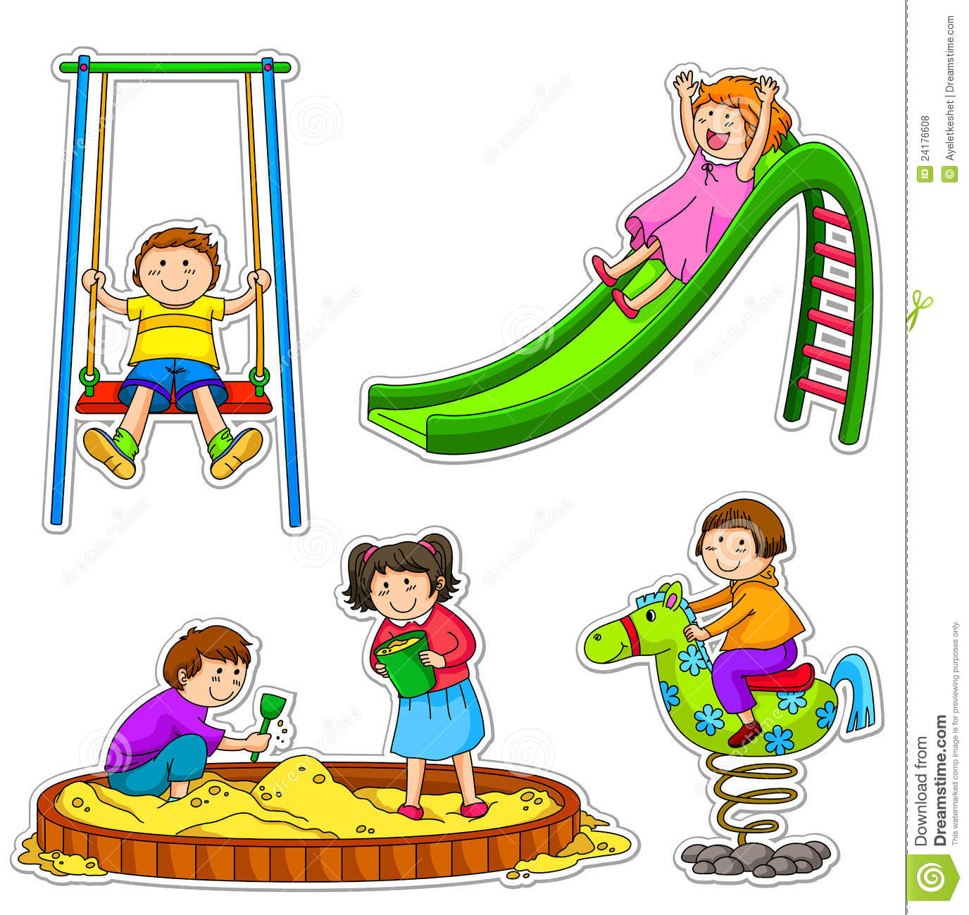 Clip Art for Playground