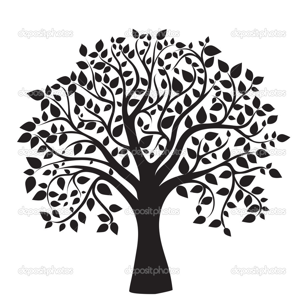 Oak Tree Silhouette   Clipart Panda   Free Clipart Images