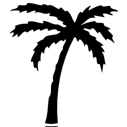 Palm Tree Clipart No Background   Clipart Panda   Free Clipart Images