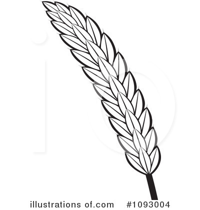 Royalty Free  Rf  Wheat Clipart Illustration By Lal Perera   Stock