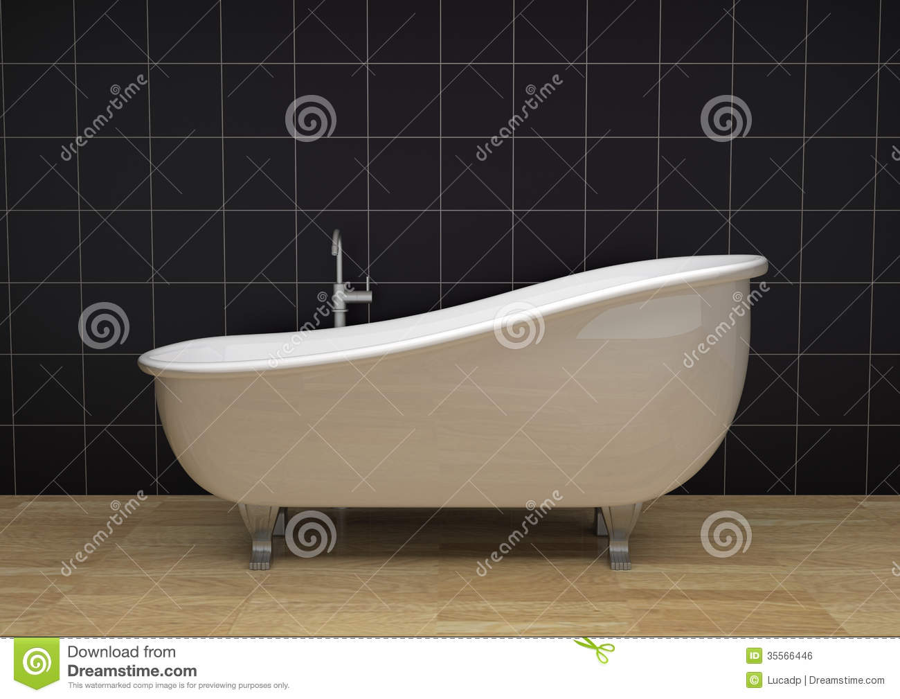 Vintage Bathtub Royalty Free Stock Image   Image  35566446