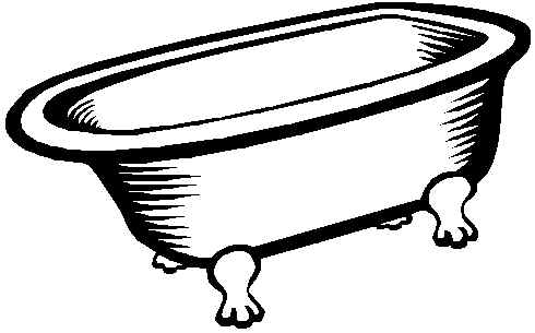 Clip Art Bathtub Clip Art vintage bathtub clipart kid wealso sell old fashioned claw foot bathtubs at www oldtub com