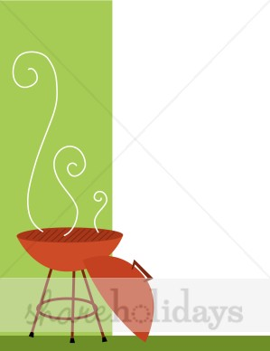 Barbecue Background   Party Clipart   Backgrounds