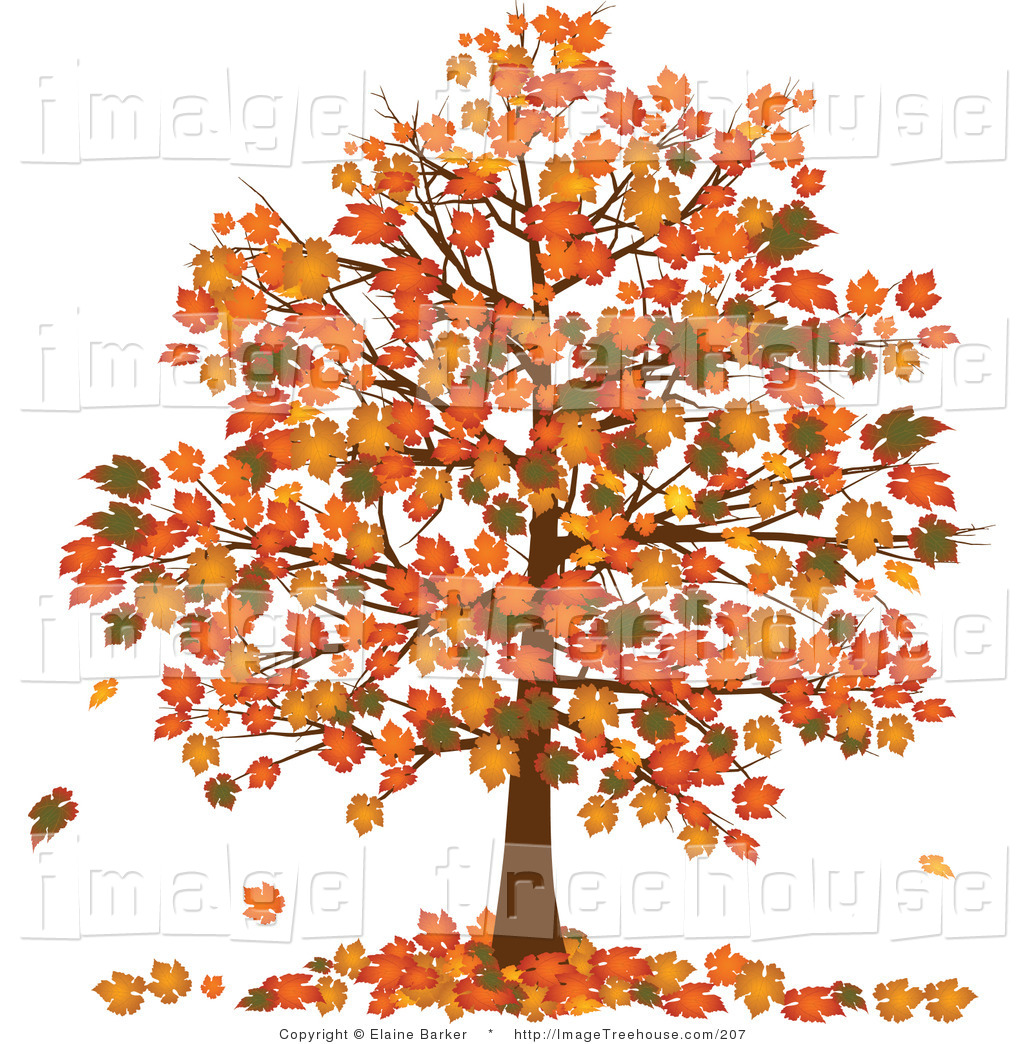 Clip Art Fall Trees Clipart fall tree free clipart kid of a with vibrantly colored orange and yellow fall