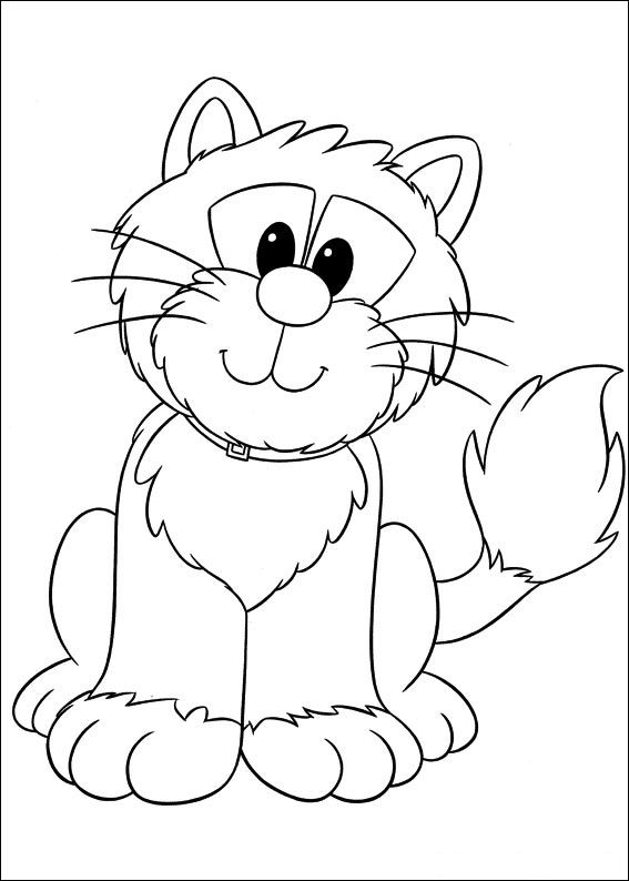 Coloring Pages   Postman Pat Coloring Pages
