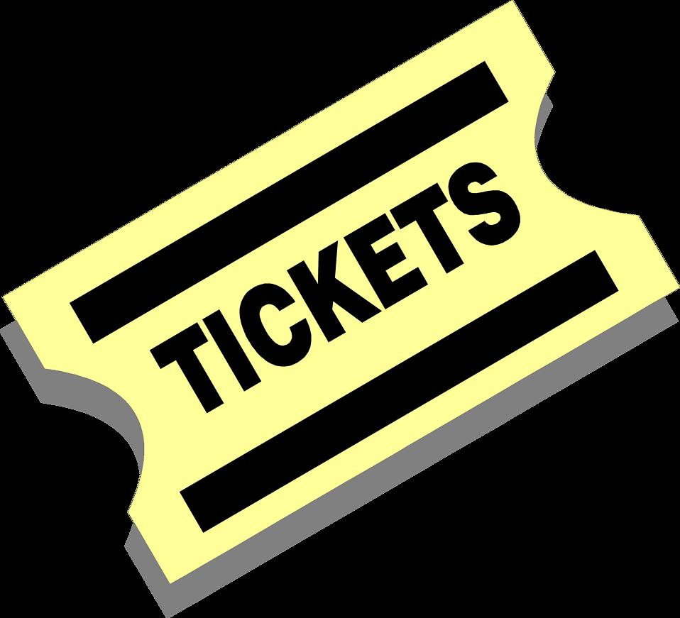 Tickets Clip Art Concert Ticket Clipart Cliparthut Free Clipart