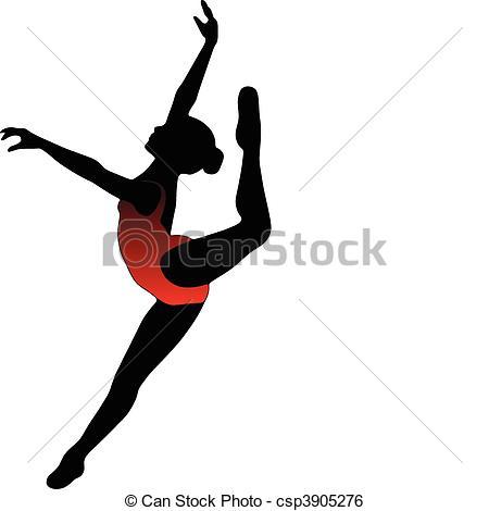 Dance Silhouettes Clip Art Free