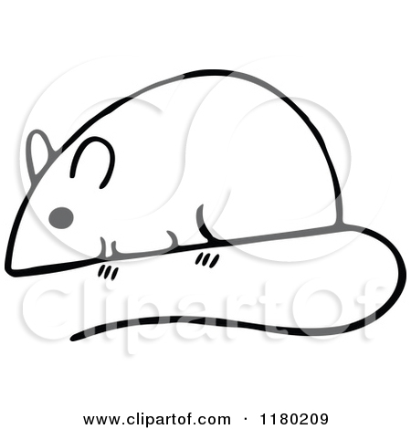 Mouse clip art black and white - photo#54