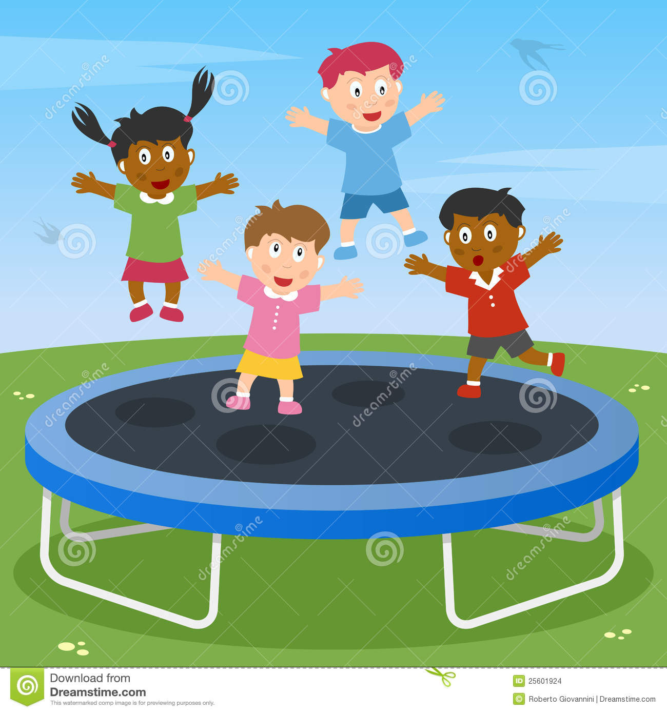 Person Jumping On Trampoline Clipart   Cliparthut   Free Clipart