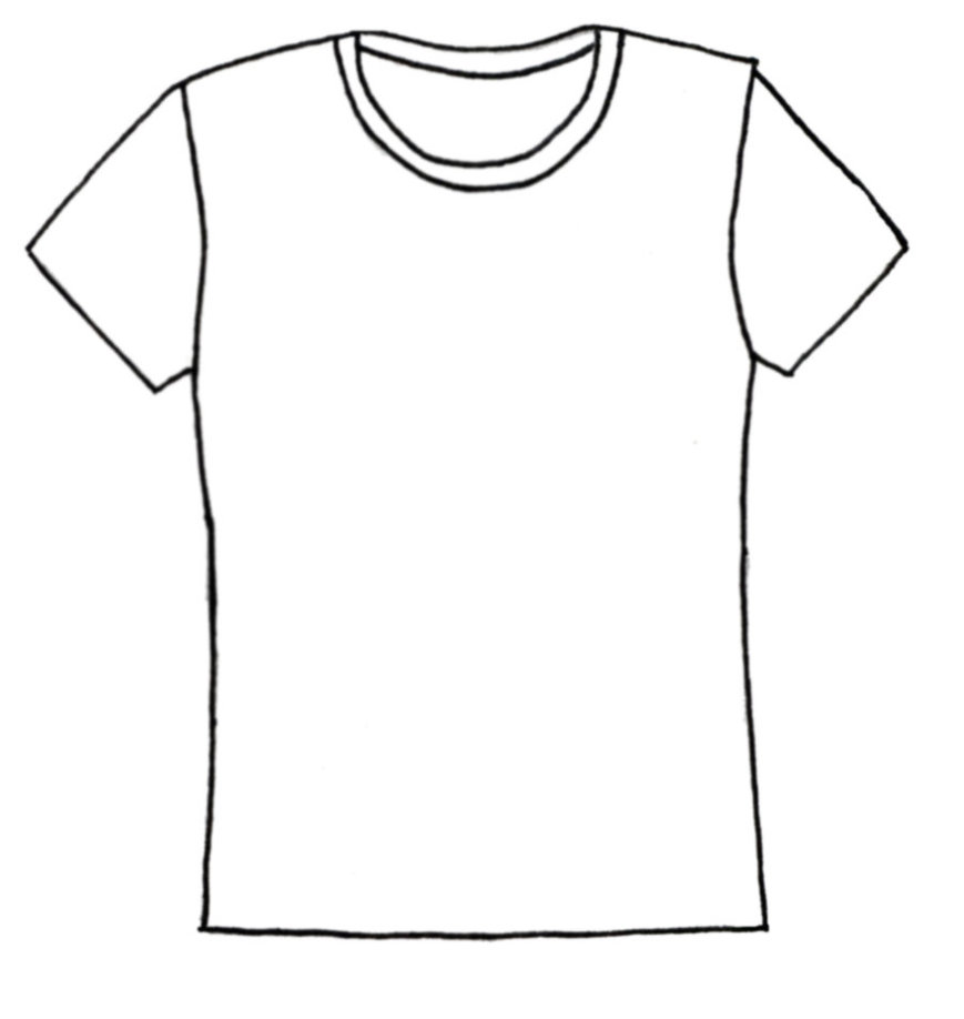 Plain Tee Shirt Lines By Morningglorymeadows On Deviantart