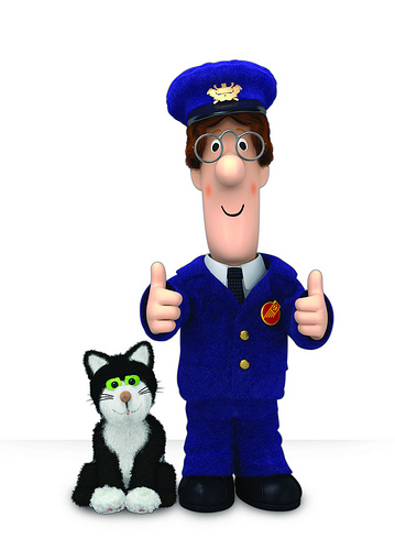 Postman Pat And His Black And White Meow