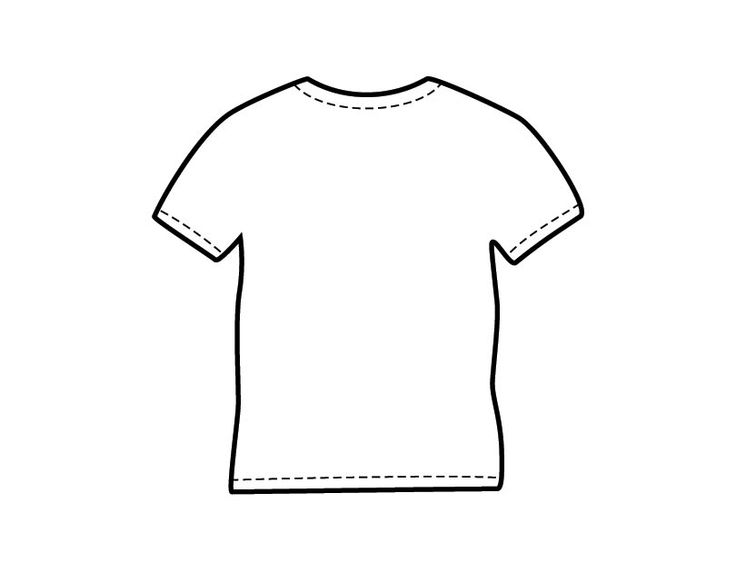 Printable T Shirt Coloring Page From Freshcoloring Com   Back To