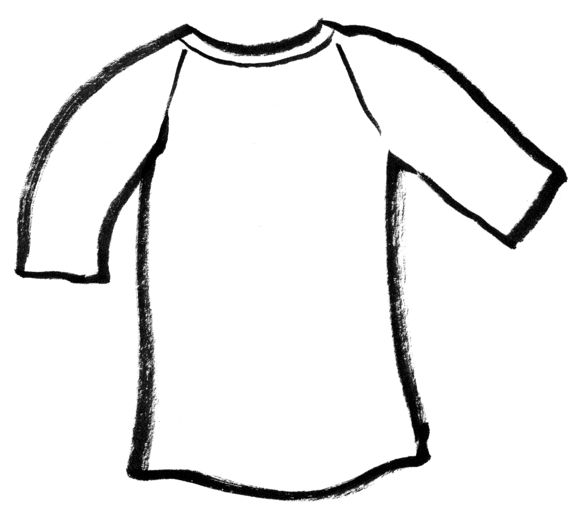 Shirt For Coloring   Clipart Best