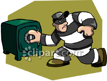 Thief Safe Clipart   Free Clip Art Images